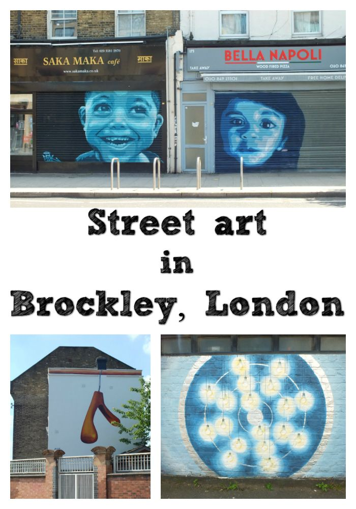 Brockley Street Art festival profiles some of the freshest art in London. Check out this post to see some Brockley street art.