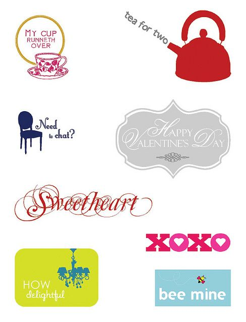 Free Sentiment Downloads for card making #ValentinesDay