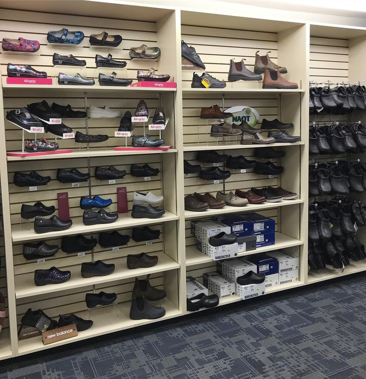 Our Folly Rd. store has a great selection of slip resistant shoes! #makeyourfeetfeelgood #phillipsshoes #phillipsshoessc #blundstone #alegria #dansko #keen #newbalance #naot #crocs #birkenstock