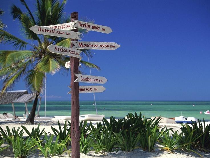 Directions, Santa Lucia Beach, Cuba