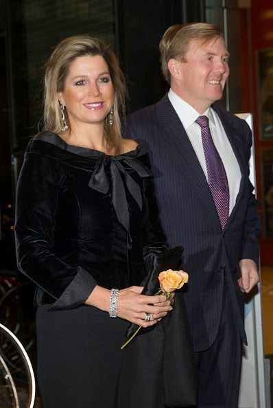 Royal Family Around the World: King Willem-Alexander and Queen Maxima Of The Netherlands Attend Residentie Orchestra 110th Anniversary on November 21, 2014 in The Hague