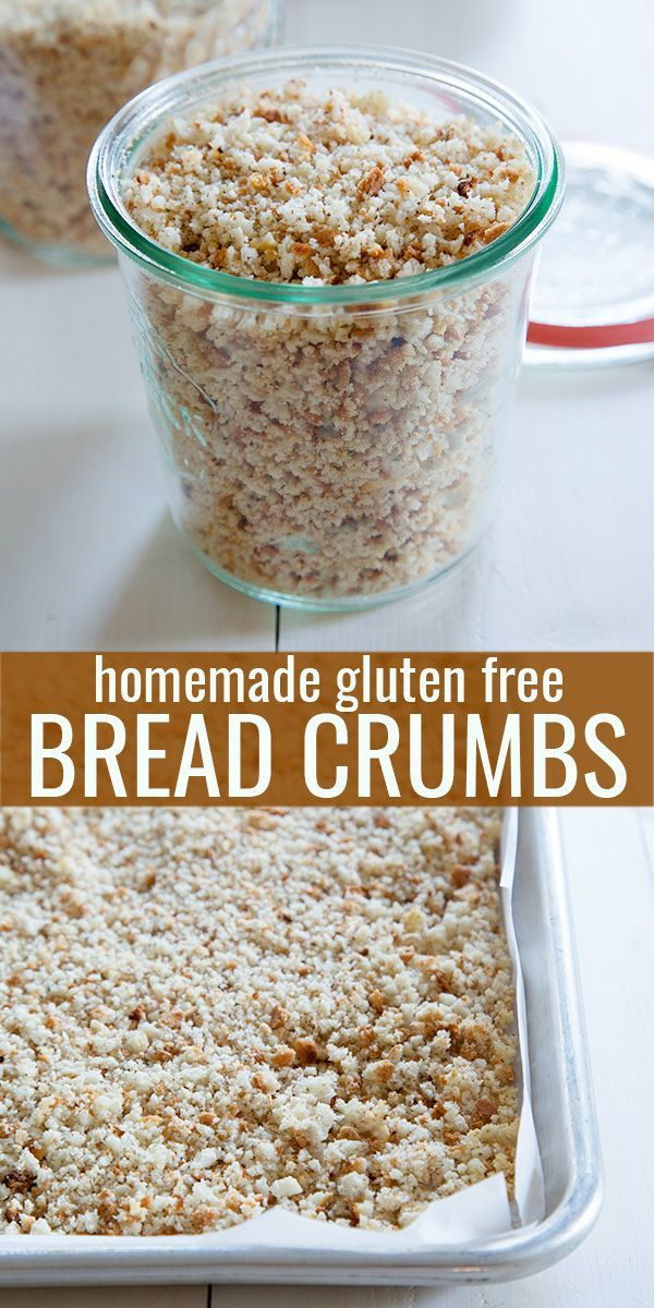 When gluten free bread goes stale, don't ever throw it away! Save money but putting old bread to new use in gluten free bread crumbs, Panko-style or not.
