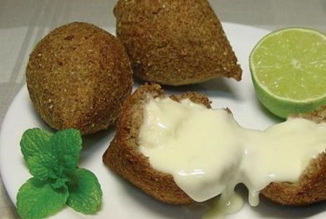 Lebanese Kibbeh With Lemon Tahini