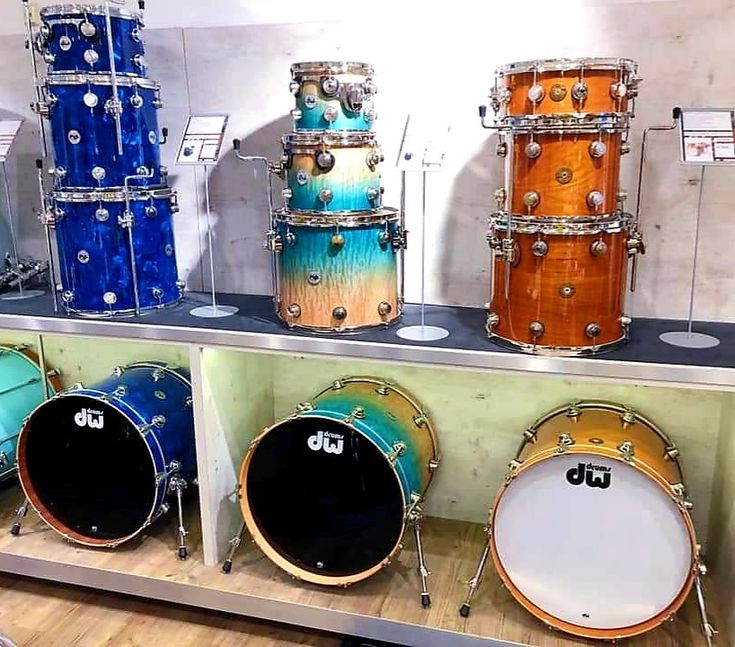 Pin by Terry Nugent on DW Drums   Dw drums, Drums, Drum set