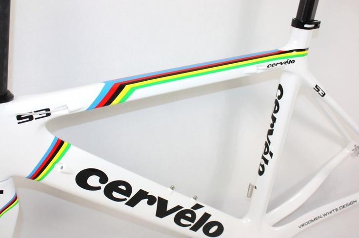 #Cervelo S3 White Carbon #Roadbike #Bicycle Frame - #Sale $834.58  http://www.bikeshopmart.com/roadbike-frames/9-cervelo-s3-white-carbon-frame.html