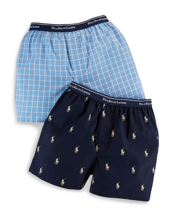 Ralph Lauren Childrenswear Boys' Woven Boxers - Sizes Xs-xl
