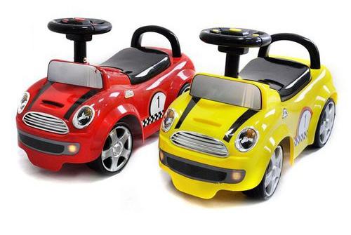 Maşinuţă fără Pedale Cooper - Kinderkraft