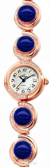 Часы женские наручные Mikhail Moskvin Флора, цвет: золотистый. 1138B8B1 Лазурит
