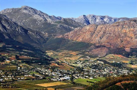 Franschhoek Wine Valley view