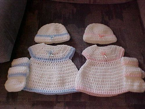 Free Crochet Preemie Baby Dress Patterns : Ravelry: Rindys Bubblesuit Dress free pattern by Rindy ...