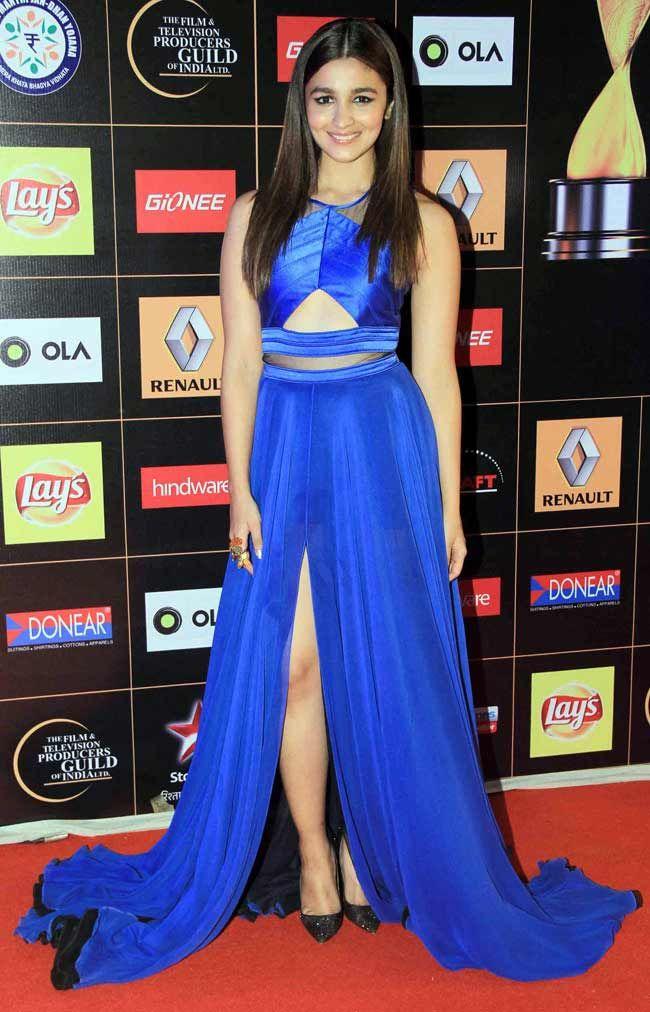 Alia Bhatt at Star Guild awards 2015.