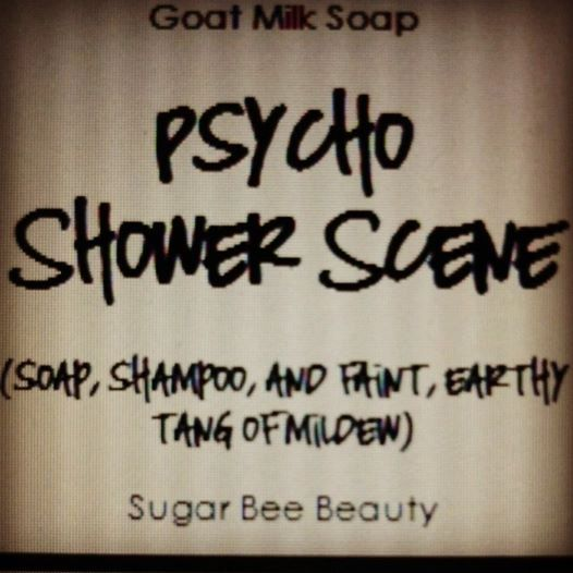 Psycho Shower Scene soap - just because this movie is one of my all time favorite and this scene is iconic