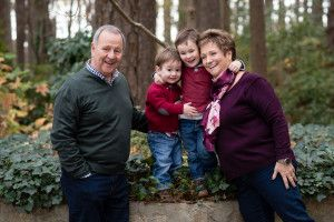 Children with grandparents family photography