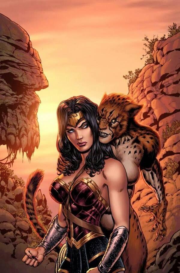 手机壳定制naot shoes outlet vaughan Wonder Woman and Cheetah by Liam Sharp