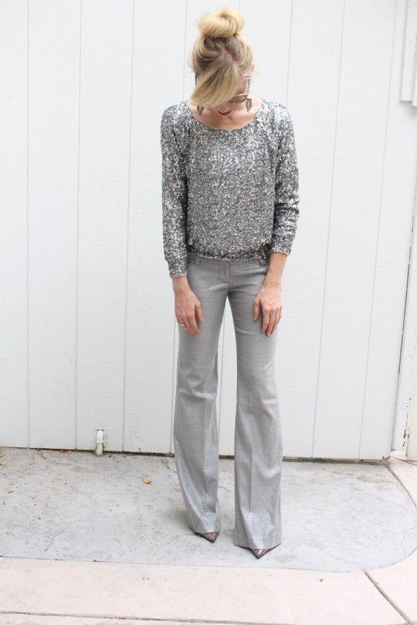 Серый свитер — тренд сезона. Как его носить 9