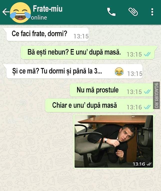Ce faci frate, dormi? http://9gaguri.ro/media/ce-faci-frate-dormi