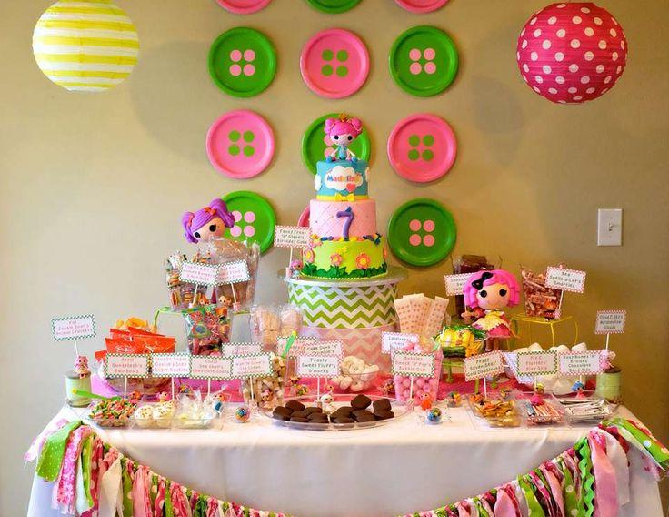 LalaLoopsy Birthday Lalaloopsy Party