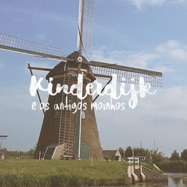 Se você estiver na Holanda, não pode perder a oportunidade de ir até Kinderdijk. Esse pequeno vilarejo, pertinho de Rotterdam, reúne 19 autênticos moinhos de vento. O melhor cenário para conferir um dos maiores símbolos holandeses! Leia mais aqui e saiba como chegar! Obs: Todas as fotos foram tiradas por mim, e não podem ser reproduzidas sem minha autorização.