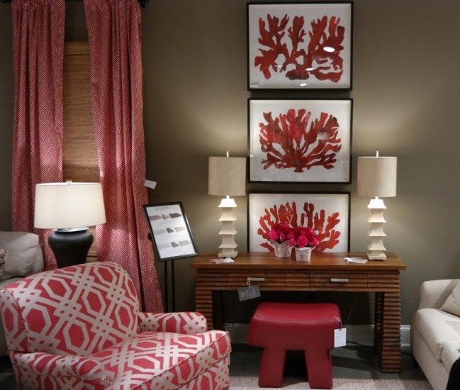 Trending color at High Point Market >> Linda Holt Interiors