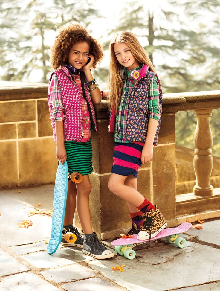 Brighten up the fall season with lively prints for Ralph Lauren Kids