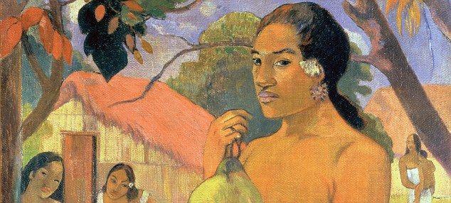 Paul Gauguin  Google Image Result for http://i.dailymail.co.uk/i/pix/2010/11/07/article-1327470-0BE8D265000005DC-906_634x286.jpg