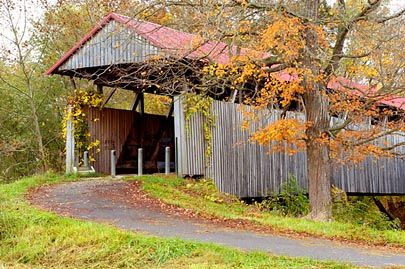 Oltown Covered Bridge Greenup KY