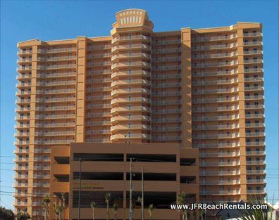 Treasure Island 812 - # bedroom vacation condo in Panama City Beach, FL - Wrap Around Balcony - Gulf and BAY View!