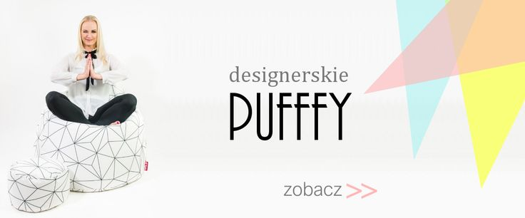 designerskie pufy