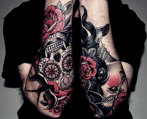 .}Tattoo{.   Colors