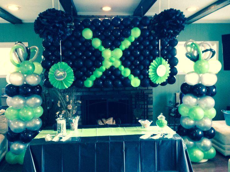Xbox Birthday Party Centerpieces Ideas