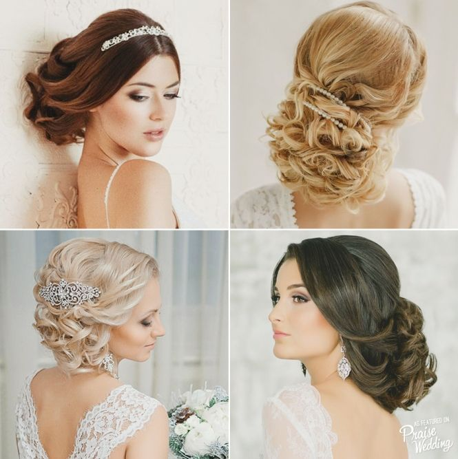 """Super Short Wedding Hairstyles: Super Elegant & Sophisticated """"low Updo"""" Hairstyles"""