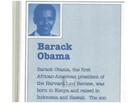 """Breitbart News has obtained a promotional booklet produced in 1991 by Barack Obama's then-literary agency, Acton & Dystel, which touts Obama as """"born in Kenya and raised in Indonesia and Hawaii."""""""