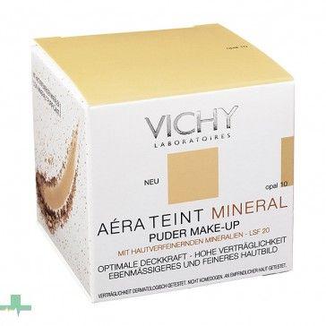 11€ PVP Especial - #AéraTeint de #Vichy es un fondo de maquillaje que purifica tu piel y la protege de agentes externos... http://www.farmachueca.com/vichy-aera-teint-mineral-fondo-de-maquillaje-polvo-mineral-opal-10.html