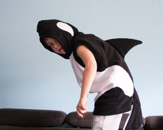 homemade whale costume