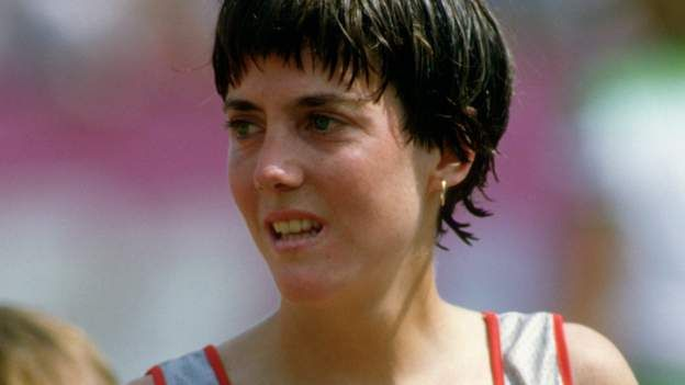 BBC SPORT - London Marathon: Joan Benoit Samuelson on breaking boundaries Battle Of Marathon, New York Marathon, London Marathon, Marathon Running, Olympic Marathon, Breaking Boundaries, Coxswain, 1984 Olympics, Olympic Champion