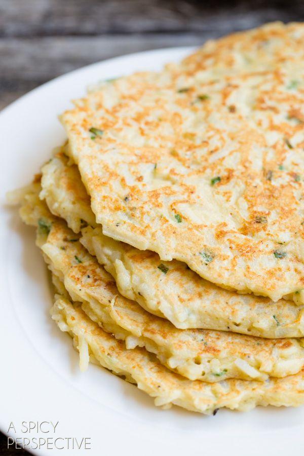 Easy Boxty Recipe: Irish Potato Pancakes with Sauteed Mushrooms and ...