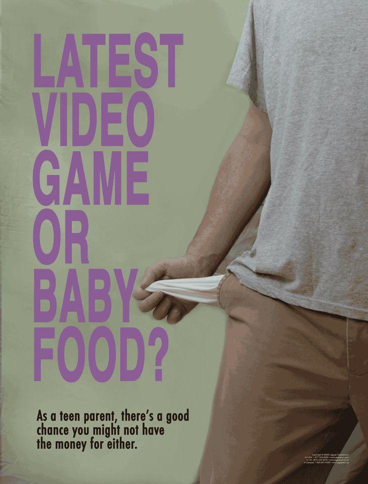 Teen Pregnancy  Parenting Realities Poster Set  Teen -6905