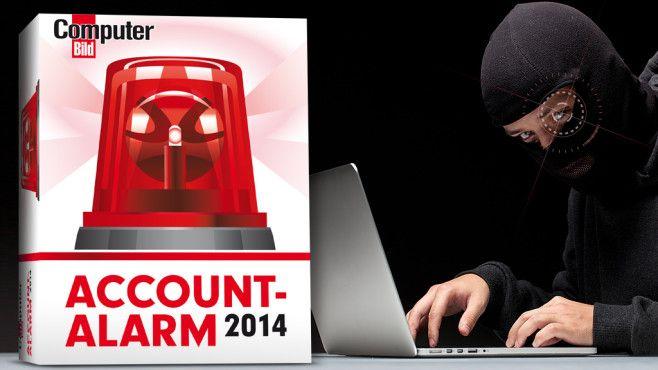 Der COMPUTER BILD-Account-Alarm: Keine Chance für Datendiebe!