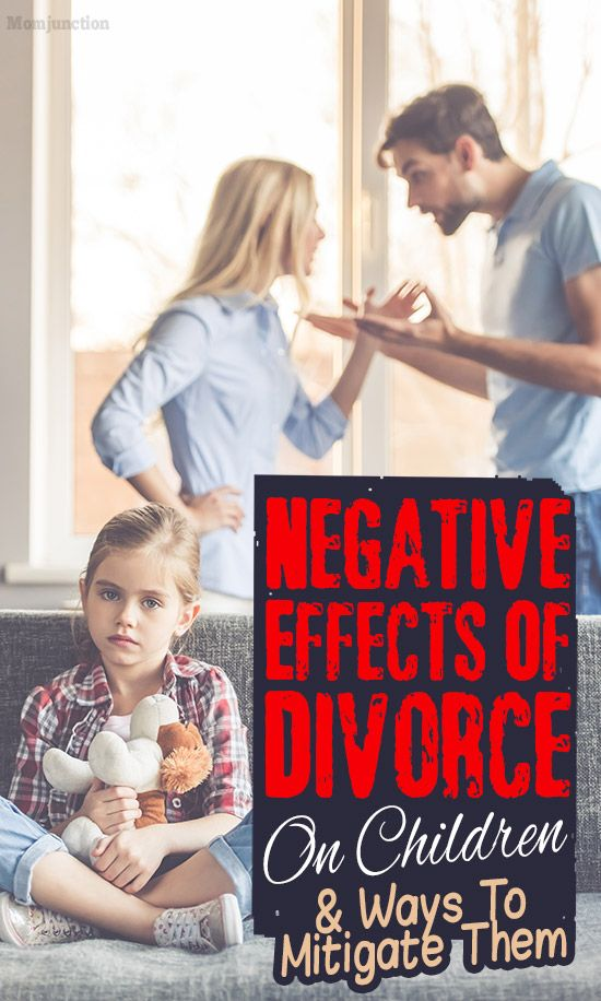 negative effects of divorce on children