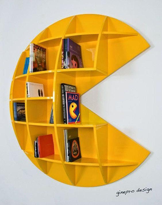 Çocuk Odaları İçin Harf Şekilde 16 Başarılı Kitaplık Tasarımı - Farkl...