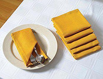 Solid Color Cotton Dinner Napkins | Scottsdale