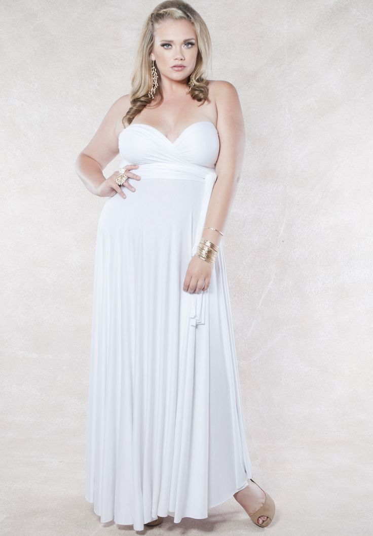 17 Best images about All White plus size outfits on Pinterest