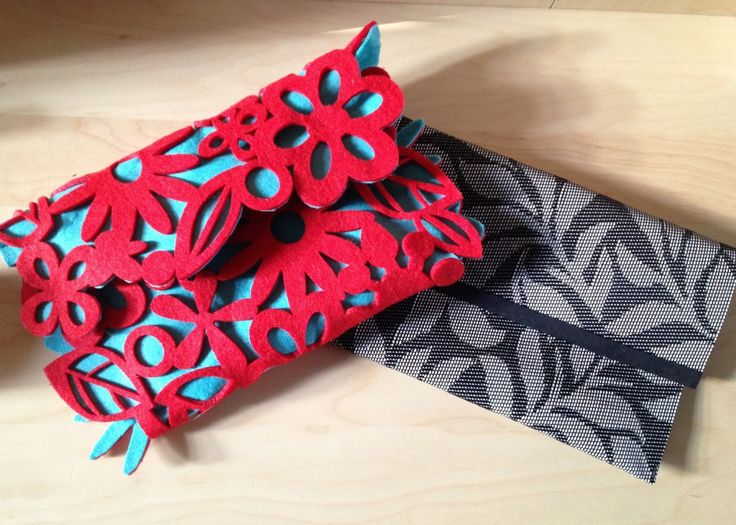 ... and some Placemat Clutch Bags