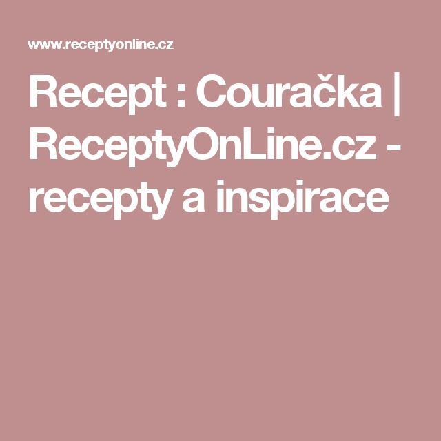 Recept : Couračka | ReceptyOnLine.cz - recepty a inspirace