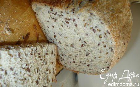 Диетический хлеб с льняным семенем в хлебопечке | Кулинарные рецепты от «Едим дома!»