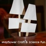 Mayflower Craft and Science Activity
