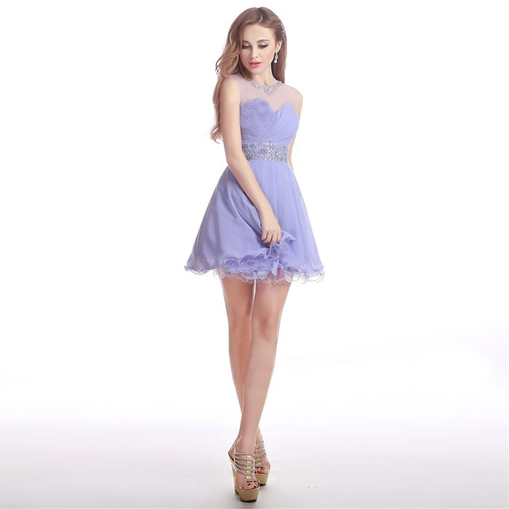 Short Homecoming Dresses Mini Beaded Party Gowns mezuniyet elbiseleri Sleeveless Tulle Royal Blue Graduation Dress 2016