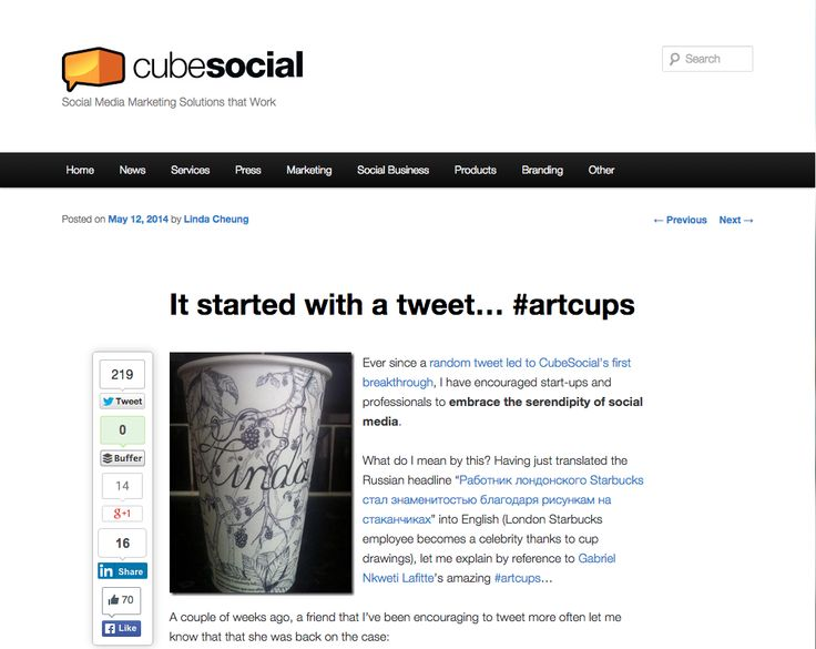 "Blog by cubesocial   Full post on ""It started with a tweet..."" in link"