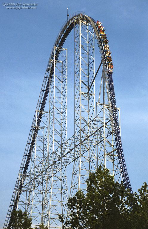 Millennium Force - Cedar Point-- my favorite roller coaster :)