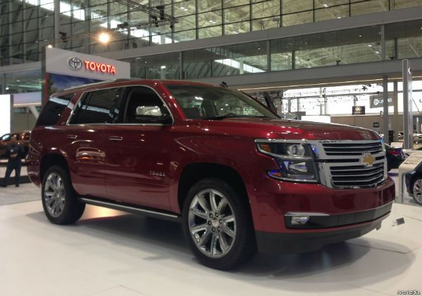 2016 Chevrolet Suburban Red